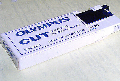 50  Olympus CUT Disposable Microtome Blades (1 pack)