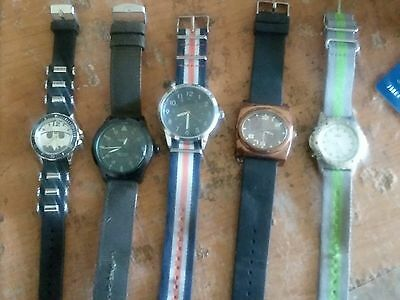 lot of 5 mens watches