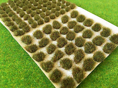 Yellow Brown Rough Tufts - Model Scenery Static Grass Natural Shaped Wild Gamers