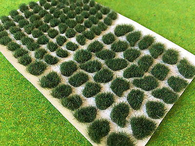 Dark Marsh Rough Tufts - Model Scenery Static Grass Natural Shaped Wild Gamers