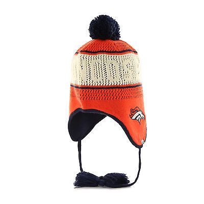 low priced b3d38 8c58d Women s NFL Denver Broncos Embroidered Jacquard Graphic Cuff Knit Hat by  47