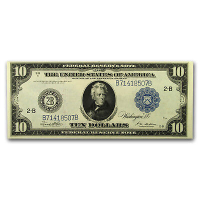 1914 (B-New York) $10 FRN Crisp Uncirculated - SKU #151313