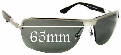 6e0d28bc74 SFx Replacement Sunglass Lenses fits Ray Ban RB3510 Sunglasses - 65mm Wide