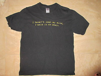 Ebayana Vintage T-Shirt ebay SIZE MEDIUM by JERZEES Circa 2005 or before