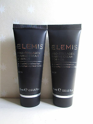 Elemis for Men Pro-Collagen Marine Cream 30ml ( 2 x 15ml ) , New & Sealed
