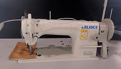NEW Juki DU-1181 SIngle Needle Walking Foot Complete w/ K.D. Stand & Servo Motor