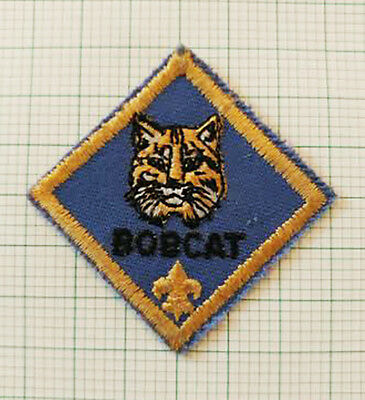 Cub Scout Bobcat Rank Patch - Pre-Owned   B00105