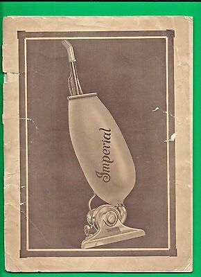 1929 Brochure for the IMPERIAL VACUUM CLEANER ~ QUITE SCARCE