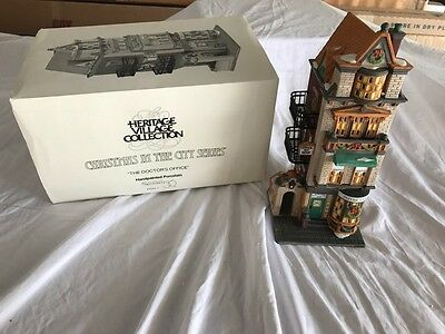 Dept. 56 THE DOCTOR'S OFFICE Christmas In The City Series - MIB