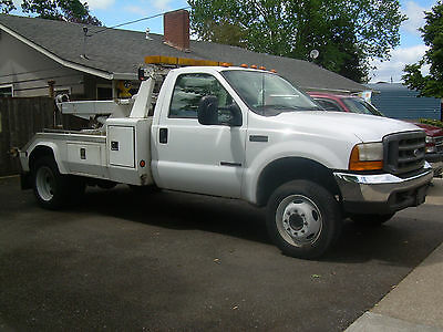 2000 Ford F550 Century Tow Truck