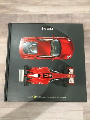 Ferrari F1 World Champion F430 Official Hardcover Book F430 ISBN 2500075711330