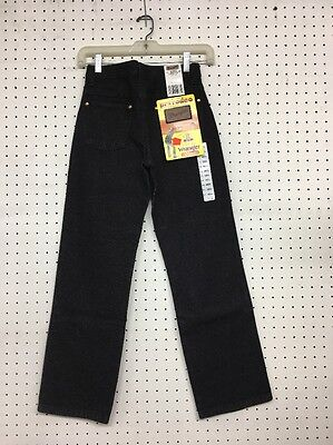Wrangler ~ Children's Pro Rodeo Jeans ~ Size 11 Regular ~ BLACK