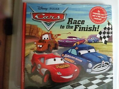 NEW Sealed Disney Cars Race to the Finish Book