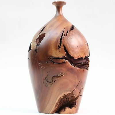 Hap Sakwa Manzanita Burl Vase excellent condition