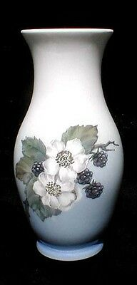 Royal Copenhagen Blackberry Floral Vase
