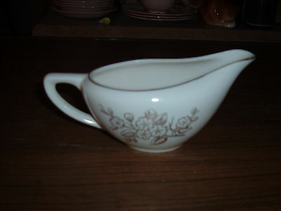 Vintage Knowles USA  gold apple blossom sauce boat pitcher