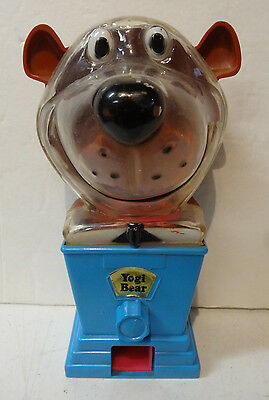 HANNA-BARBERA YOGI BEAR BUBBLE GUM BANK FROM Tarco Toys
