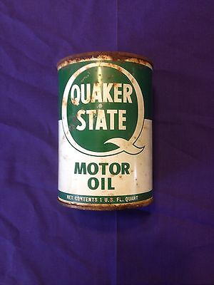 Metal QUAKER STATE oil can