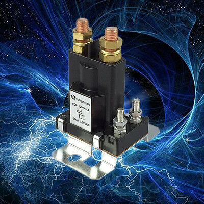 200A 12V/24V/48V DC High Current Relay Contactor On/Off Car Auto Power Switch AU