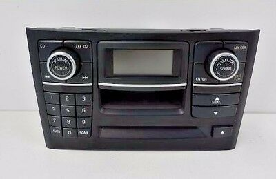 03 06 Volvo Xc90 Stereo Audio Radio Control Panel And Face Plate
