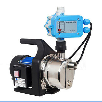 1200W Auto Control High Pressure Garden Water Pump House Tank Rain Irrigation