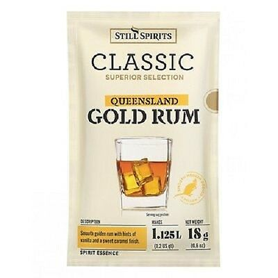 Still Spirits Classic Qld Gold Rum Spirit Essences X10 Home Brew Spirit Making
