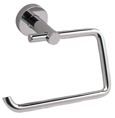 Bathroom Toilet Roll Holder - Polished Chrome