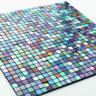 3D Wall Panel Mosaic Tile Wall Sticker DIY Self-adhesive Wallpaper Decor 30x30CM