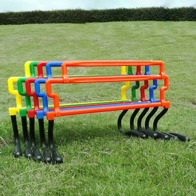 """OSG Set Of Soccer Speed Agility Training 3"""" Hurdles With Carry Strap Useful"""