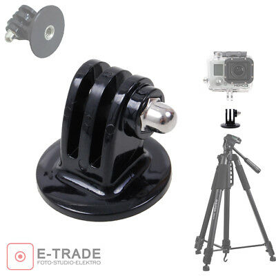 EU STOCK -- Tripod Adapter Mount Bracket Stand For GoPro HD & Hero 6 5 4 3 /GP03