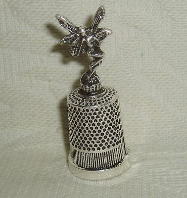 """Russian Сollectible Decorative Metal alloy Thimble """"Fairy"""""""