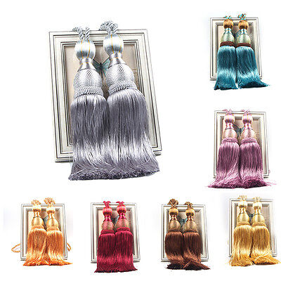 Large Tie Backs Prism Ball Tassel Curtain Rope Tieback Window Drapery Holdback