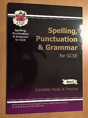 Spelling, Punctuation And Grammar For Gcse Book, Complete Study And Practice