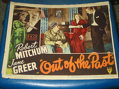 Out Of The Past / Orig. U.s. 11X14 Lobby Card 8 (R.mitchum/k.douglas/j.greer)