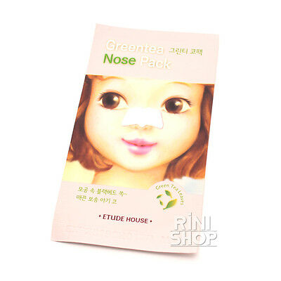 [ETUDE HOUSE] Green Tea Nose Pack 5sheets Rinishop