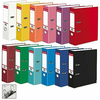 1 5 10 A4 Large Matt 75mm Lever Arch Files Folders Stationery Metal Document