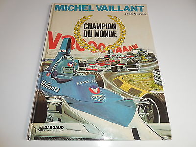 Eo Michel Vaillant Tome 26/ Champion Du Monde/ Be