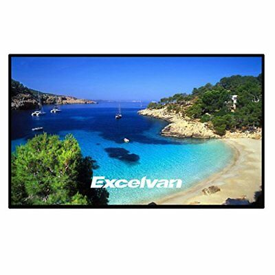 "Excelvan 120"" 16:9 HD Projector Screen Outdoor/Indoor Portable and Collapsible"