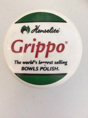 Henselite Grippo - Bowls Polish. 40ml Tub With Screw Off Lid.