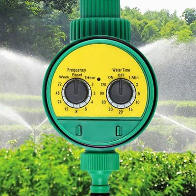 Auto Electronic Water Timer Garden Digital Irrigation Controller Waterproof CA