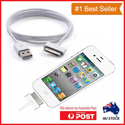USB Data Charger Cable for Apple iPhone 4S 4 3GS 5 iPod Touch iPad 2 3 Sync Cord