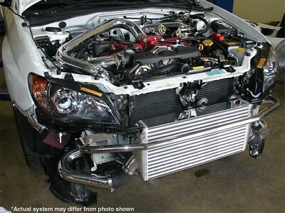 Super SES Front intercooler w/piping Subaru Impreza für WRX 05-07 STI