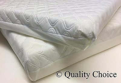 foam baby cot mattress with soft quilted cover 120cm x 60cm x 7cm amby baby hammock mattress with quilted cotton cover     22 56      rh   picclick co uk