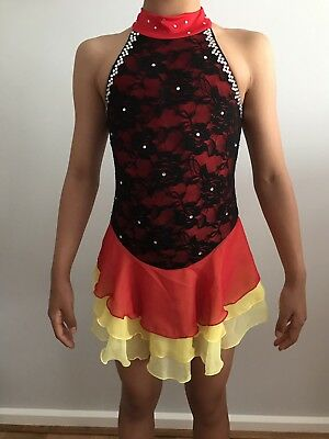 ICE SKATING / DANCE COSTUME/Girl SIZE 8