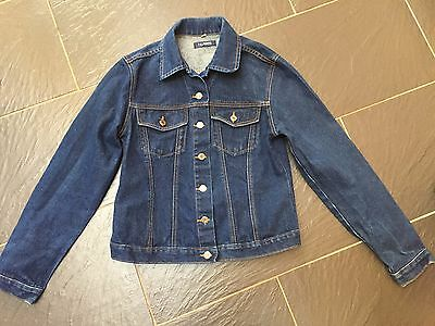 aa83541d99f09 NEW LOOK BORG Lined Denim Jacket Blue size 12 -  6.61