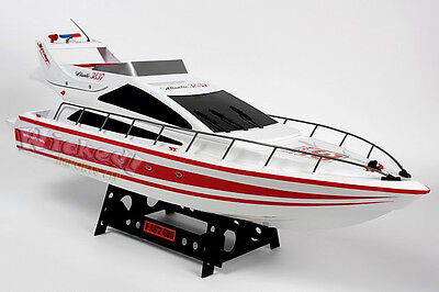 HUGE RC Heng Long Radio Remote Control Twin Motor Atlantic Yacht Speed Sail Boat