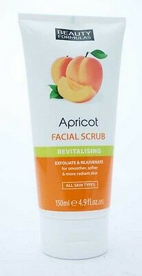 Apricot Facial Scrub Revitalising Skin Care Facial Care - All Skin Types 150Ml