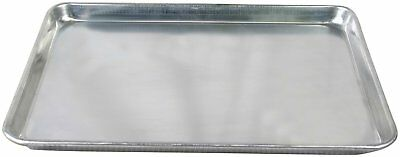 """Commercial Grade 18"""" x 13"""" Full Size Aluminum Sheet Pan for Baking Bread Cookies"""