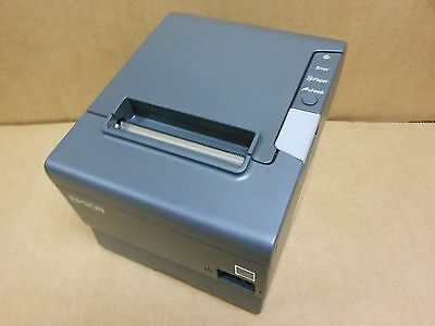Epson TM-T88V M244A Thermal Printer ETHERNET  AND USB INTERFACE Power supply