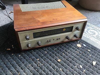 FISHER 400B Tube Receiver FM Radio Tuner Amplifier as is